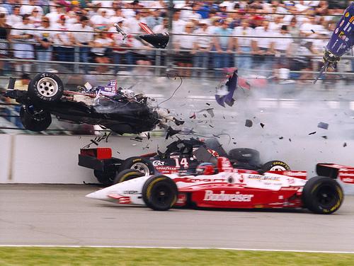 F1 事故