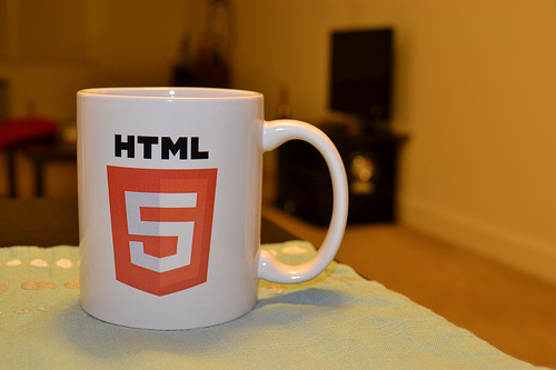 HTML5 マグカップ