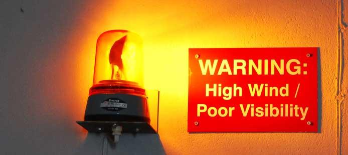 警告ランプ