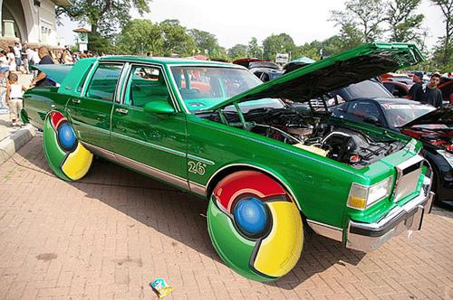 Google Chrome 車