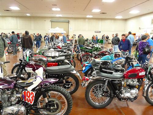 バイク展示会