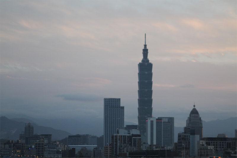 台北101 遠景
