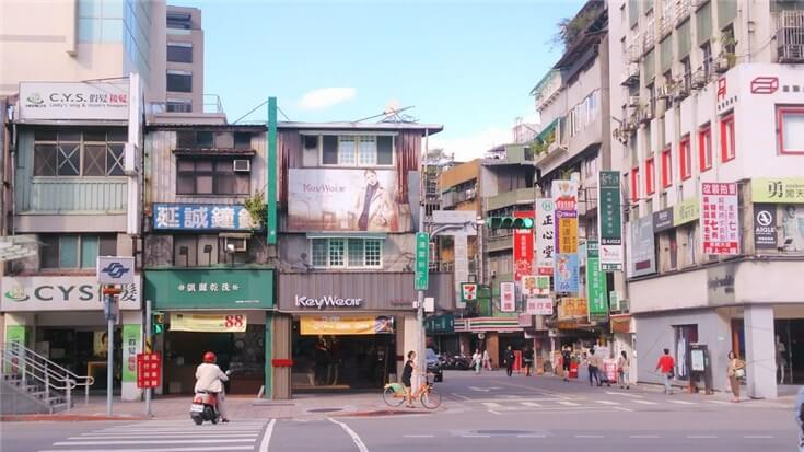 台湾の街角