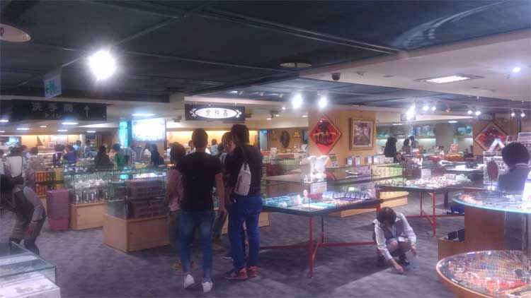 台湾 土産物店