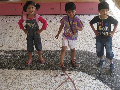 保育所の子供たち